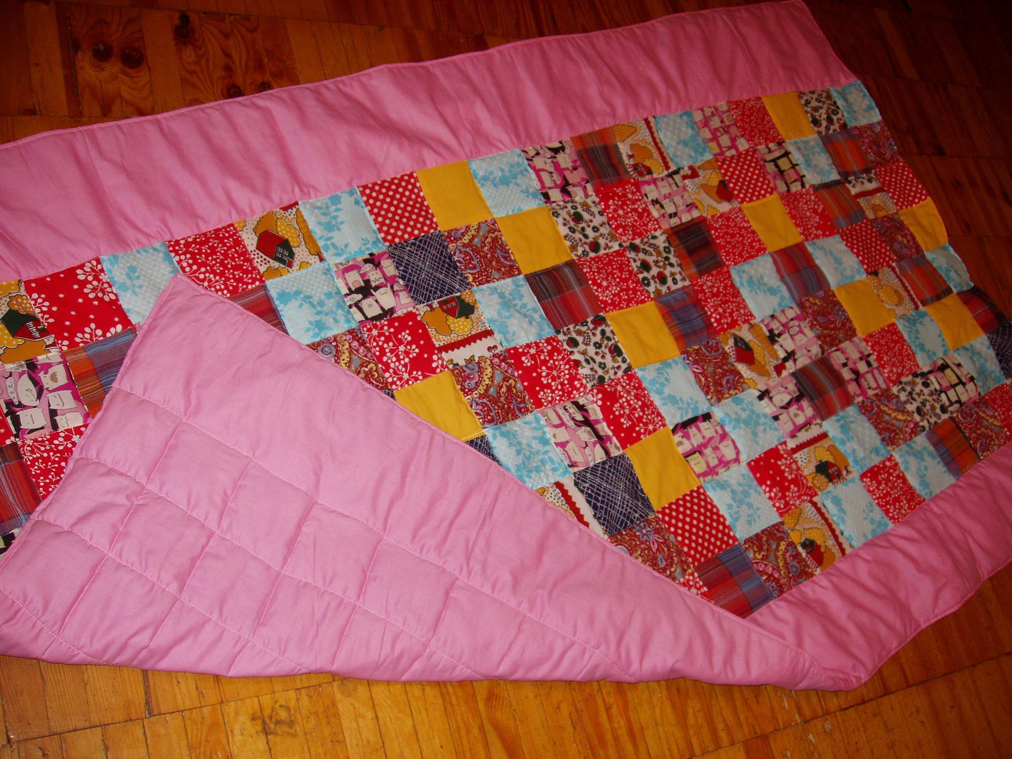 Как сшить одеяло на синтепоне своими руками