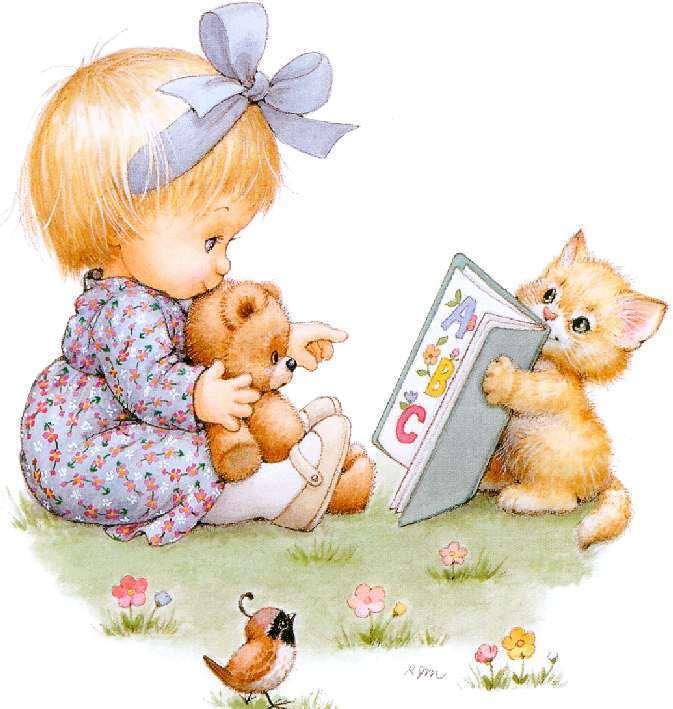 Анимашки для детей в картинках, днем рождения