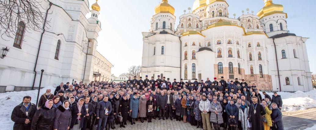 В Киево-Печерской Лавре состоялся съезд представителей захваченных храмов Украинской Православной Церкви…